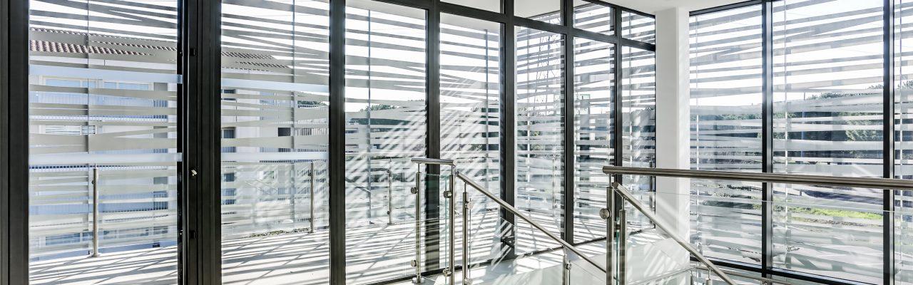baie vitrée, bureaux & co