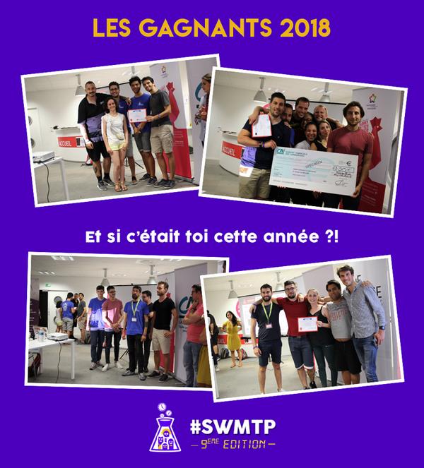 Les projets lauréats de 2018