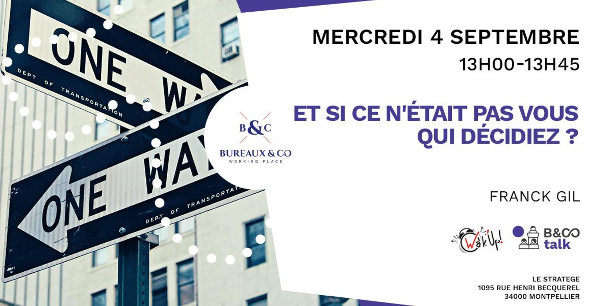 evenement Bureaux & Co Talk