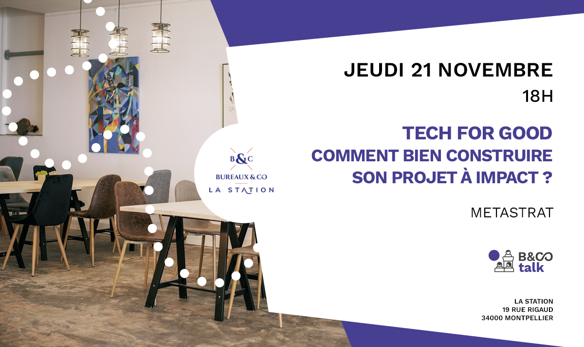 tech for good - 21 nov - la station