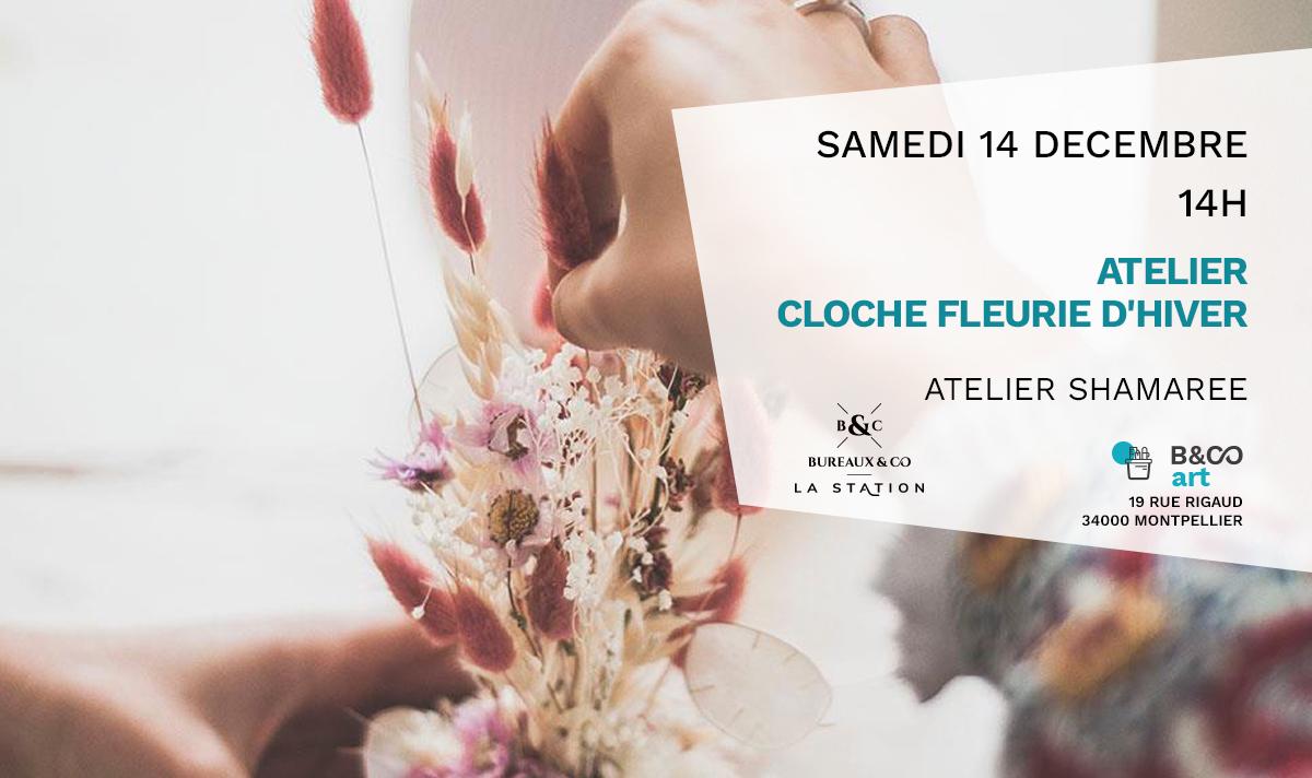 atelier cloche fleurie Bureaux & Co La Station