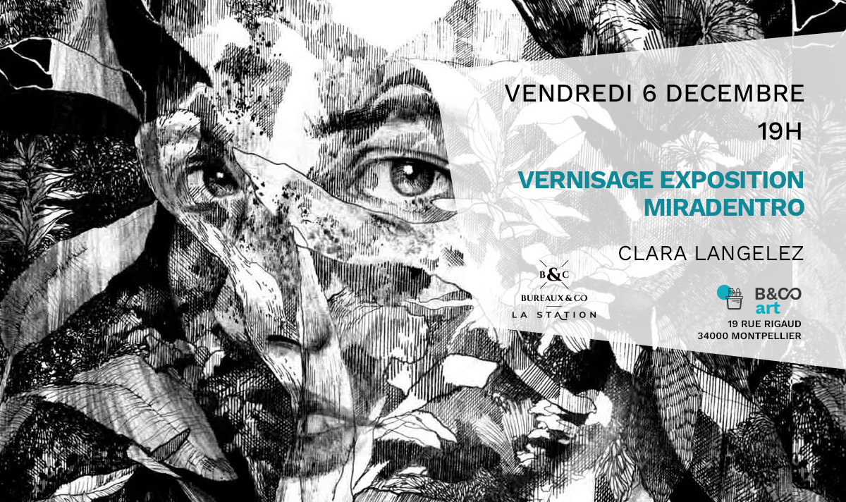 exposition clara Bureaux & Co La Station