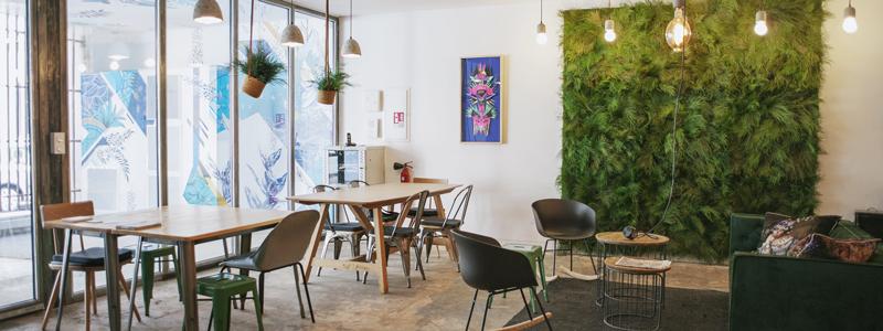 Le coworking, un concept éco-responsable: espaces aménagés