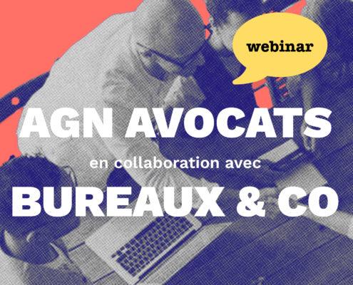 Webinar, janvier 2021, Bureaux & co, AGN Avocats